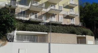 Cupra Marittima - realizzazione terra armata rinverdita su edificio nuovo