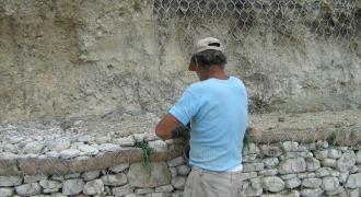 Sant'Elpidio Morico - realizzazione gabbionata rinverdita