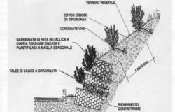 Gabbionata rinverdita